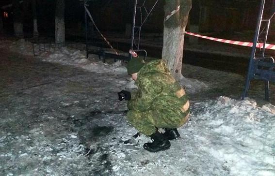 ВСлавянкске помаршруту факельного шествия подорвали взрывпакет, пострадавших нет