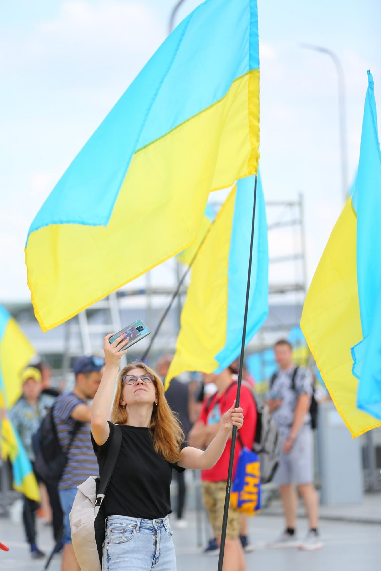 Збірна України в Борисполі (фото та відео)