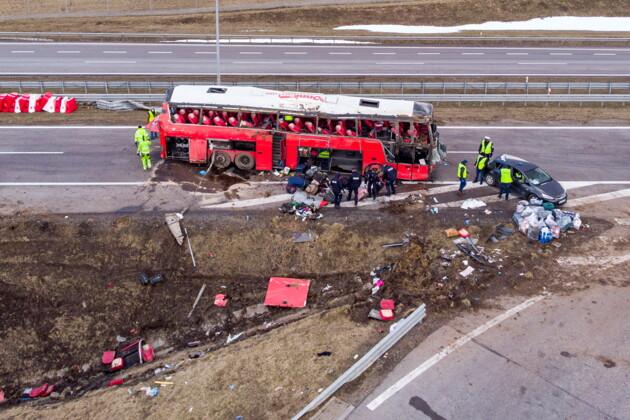 Очевидці ДТП у Польщі розповіли свою версію інциденту: це було пекло