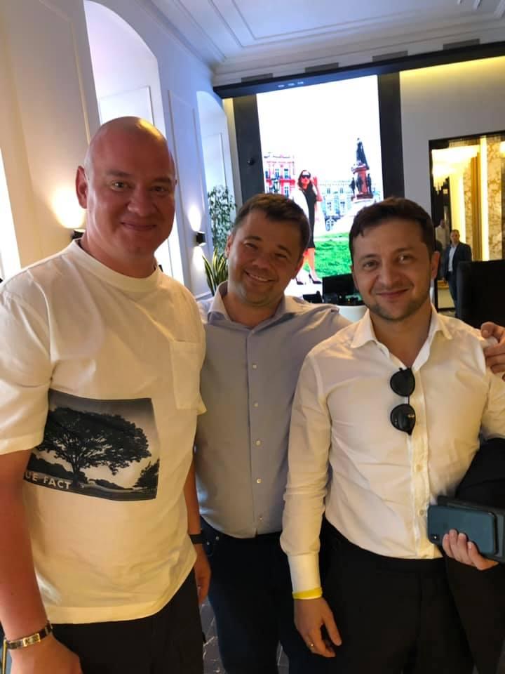 Президент і прем'єр-міністр: Богдан підірвав мережу провокаційним фото