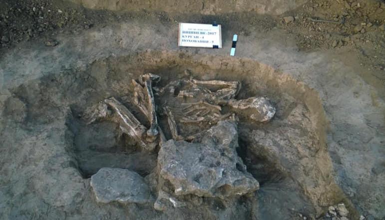 В Україні виявили унікальні поховання, яким шість тисяч років (фото)