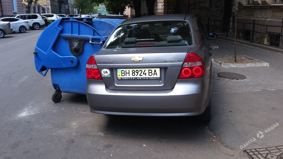 6a0545a0d916cf500b86357b1862cb04 Одесситы отомстили наглому «герою парковки»