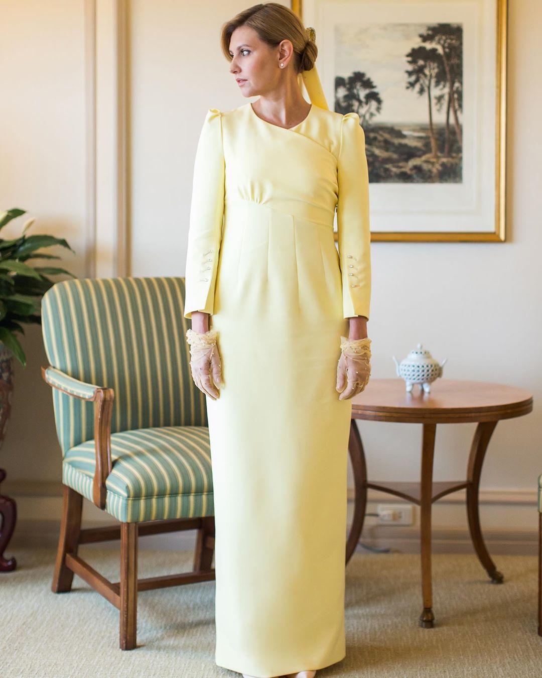 """То самое платье: Зеленская кардинально решила судьбу """"скандального"""" наряда из Японии"""