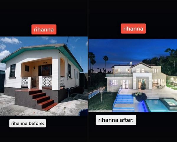 Блеск и бедность: как выглядели дома голливудских звезд до славы и сейчас