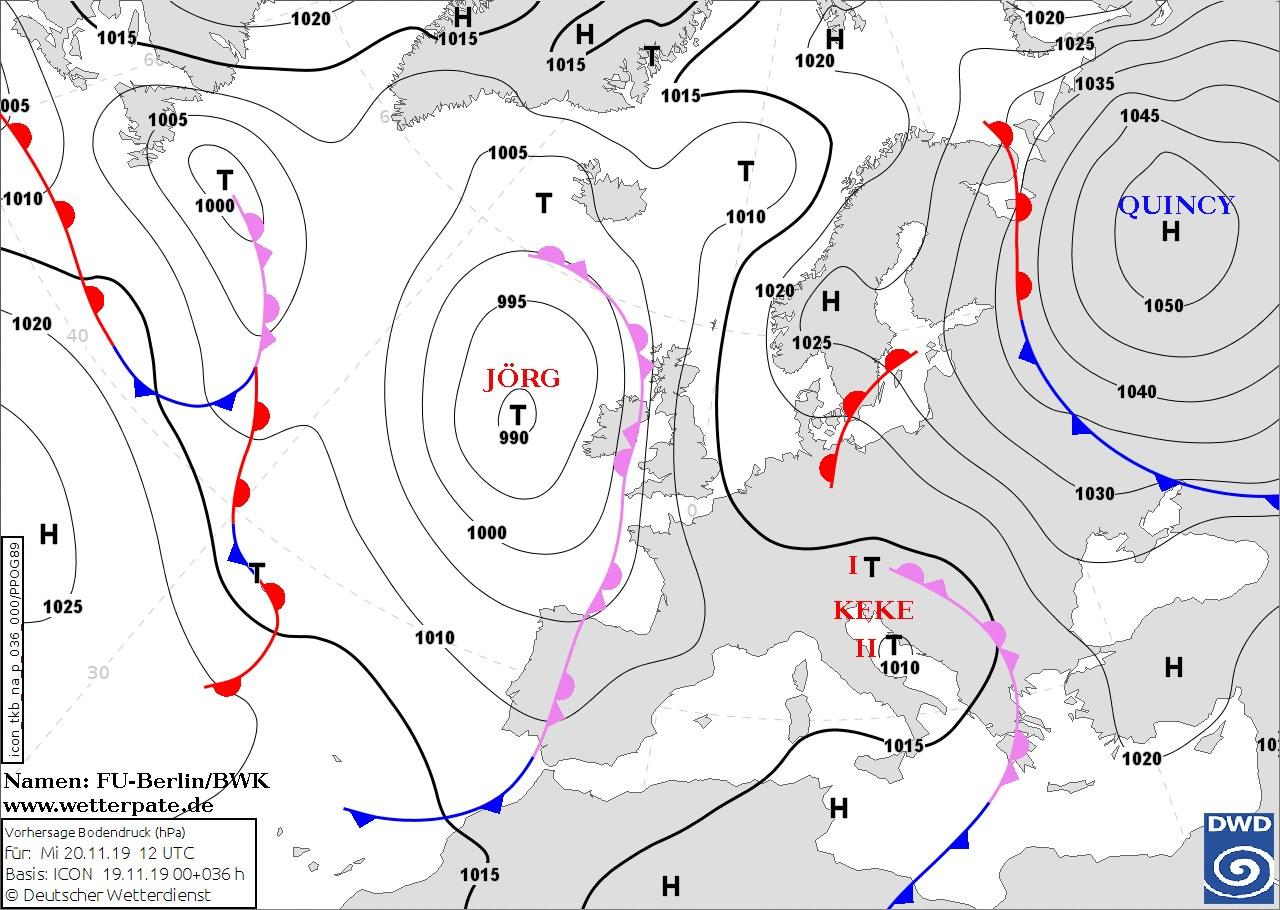 Штормовой ветер и мороз до -12: на Украину надвигается страшная непогода