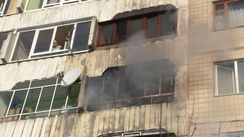 ВоЛьвове горела многоэтажка, эвакуировали 50 человек
