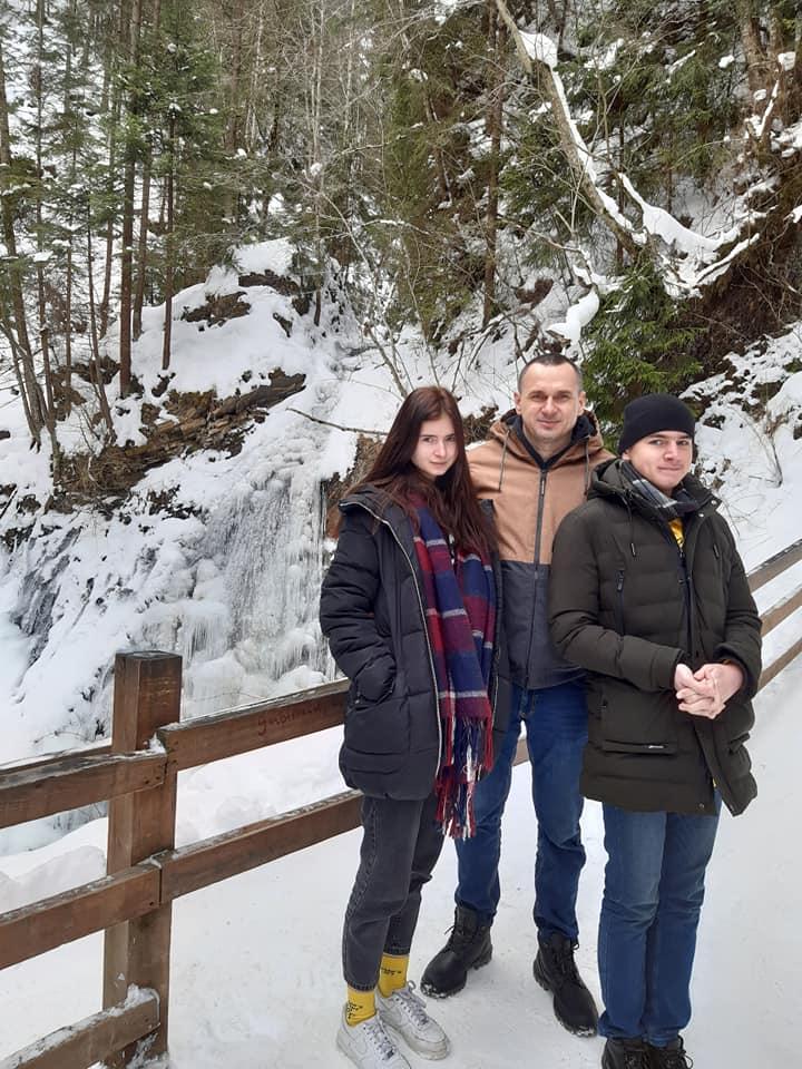 Семья Сенцова покинула оккупированный Крым: стала известна причина
