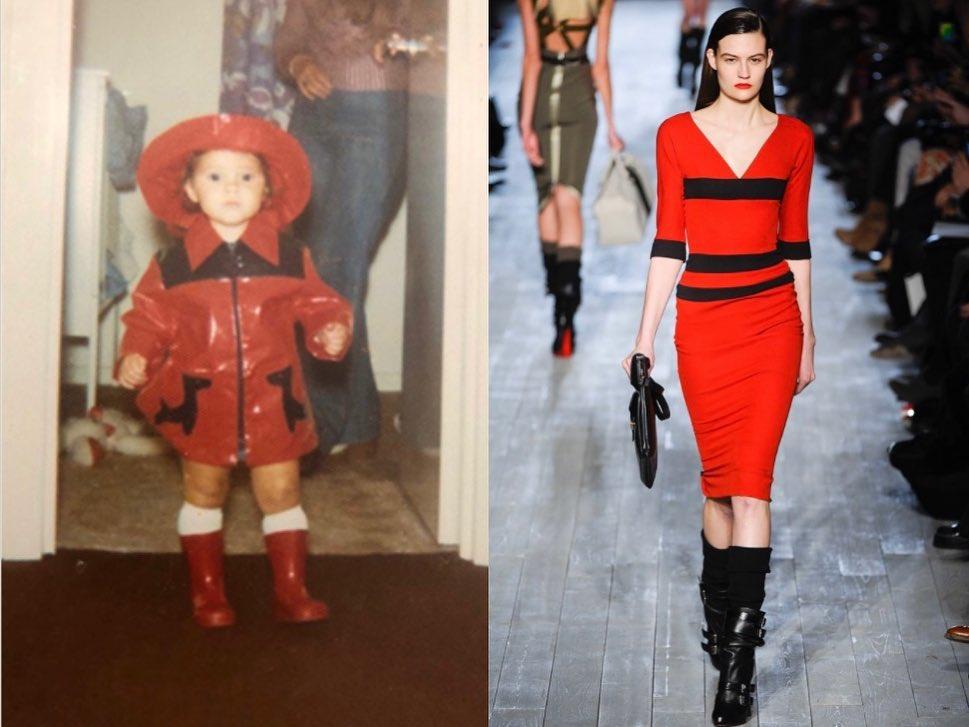 Маленькая модница: Виктория Бекхэм показала