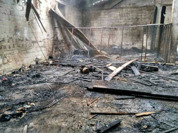 Боевики изРСЗО «Град» нанесли удар поСартане. Повреждены зерноток, дома, столовая