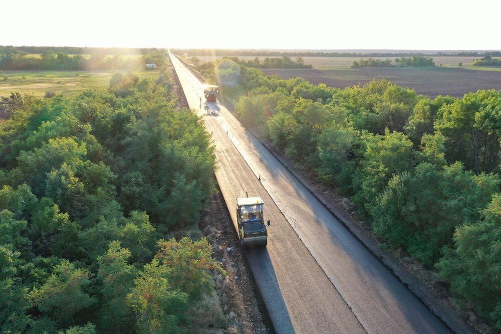 Голик: траса Запоріжжя-Маріуполь буде готова у жовтні