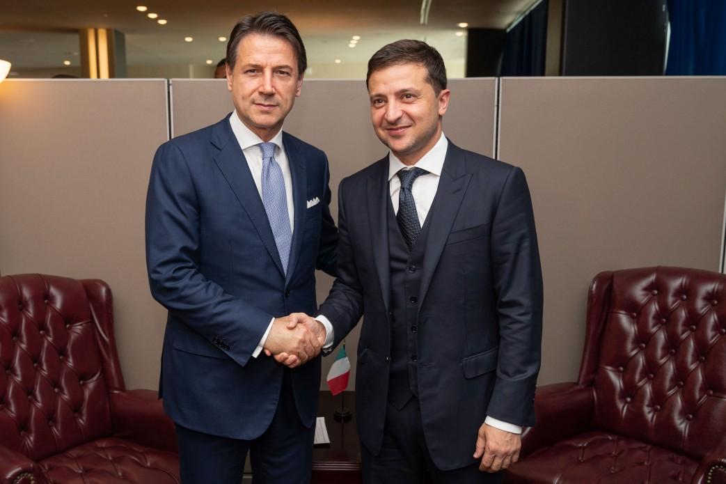 Зеленский обсудил с премьером Италии дело Маркива