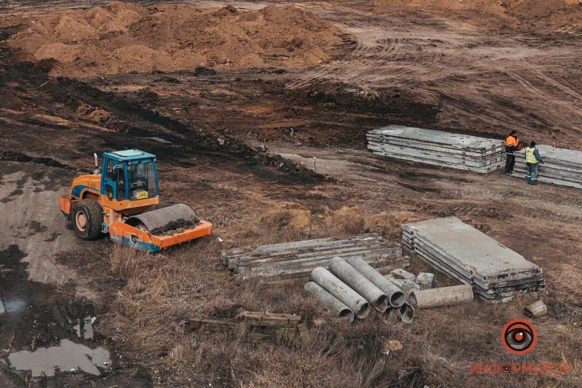 В Дніпрі так і не почалося будівництво нового аеропорту: фото
