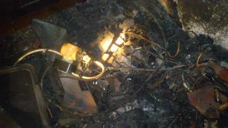 Пожар забрал жизни 2-х взрослых и10-месячного ребенка