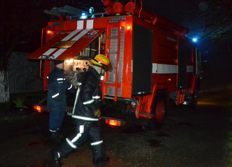 Впроцессе пожара вОдессе умер мужчина