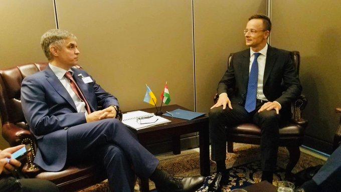 Україна планує відновити економічне співробітництво з Угорщиною