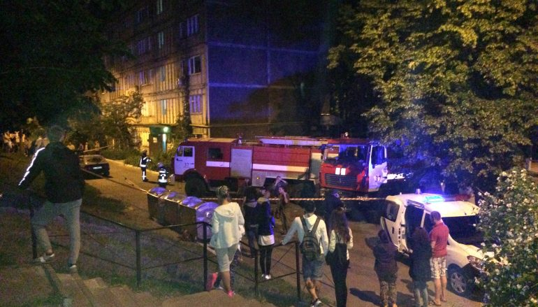 Поліція: Причиною вибуху уВишгороді став розрив гранати РГД
