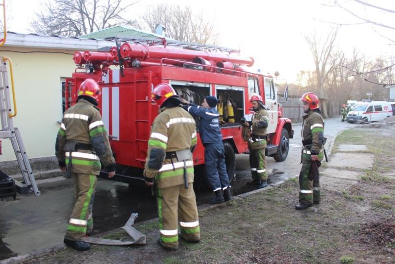 Вкиевском зоопарке произошел пожар: размещены фото сместа происшествия