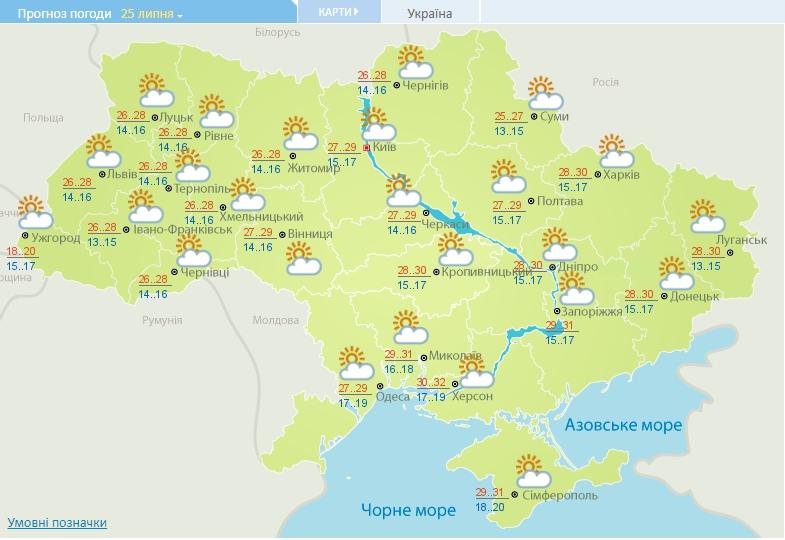 Градусы снова резко пойдут вверх: в Украину возвращается адская жара