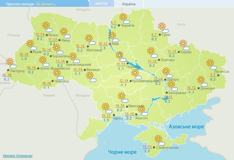Україну накриє теплою погодою: температура стрибне до 18 градусів тепла