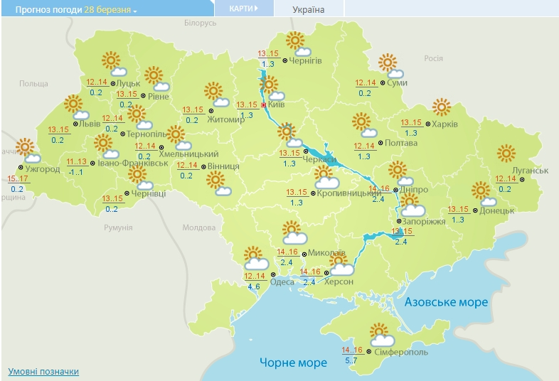 Потепління вже скоро: синоптики потішили українців прогнозом погоди