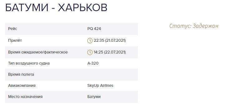 В аэропорту Батуми из-за SkyUp застряли украинские туристы почти на сутки: начался бунт