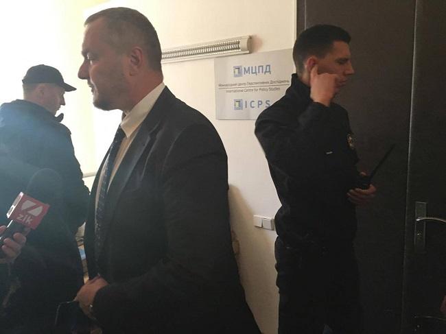 ВМеждународном центре многообещающих исследований, услугами которого пользовался народный депутат Артеменко, идет обыск