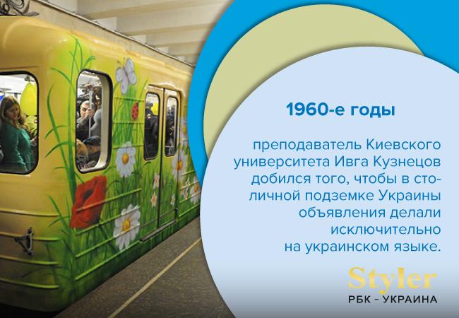 Язык объявлений в киевском метро