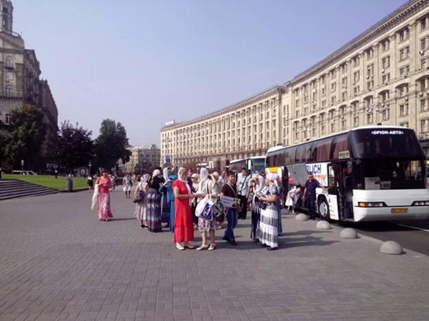 Намолебен Крестного хода пустят только жителей государства Украины