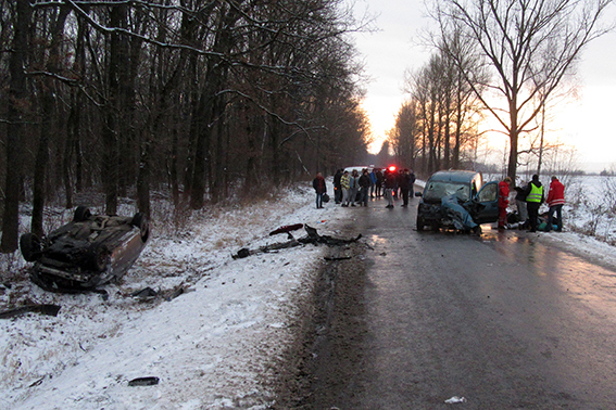 ДТП вИвано-Франковской области: есть пострадавшие