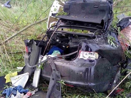 Под Киевом Хонда съехала вкювет, есть жертвы