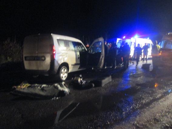 Под Бердичевом ночью столкнулись два авто, есть жертвы