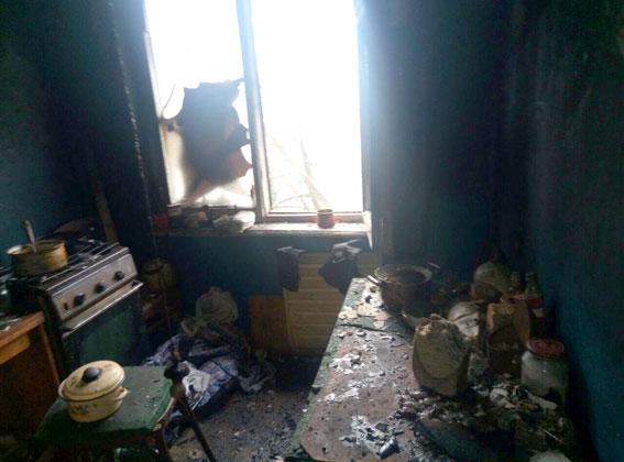 Вмногоэтажке Кременчуга произошел пожар, погибли 2 человека