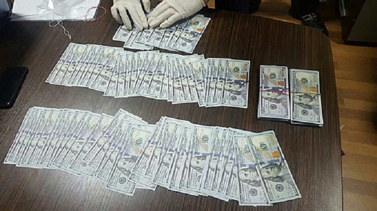 Глава госпредприятия вХарькове схвачен при получении взятки в $37тыс