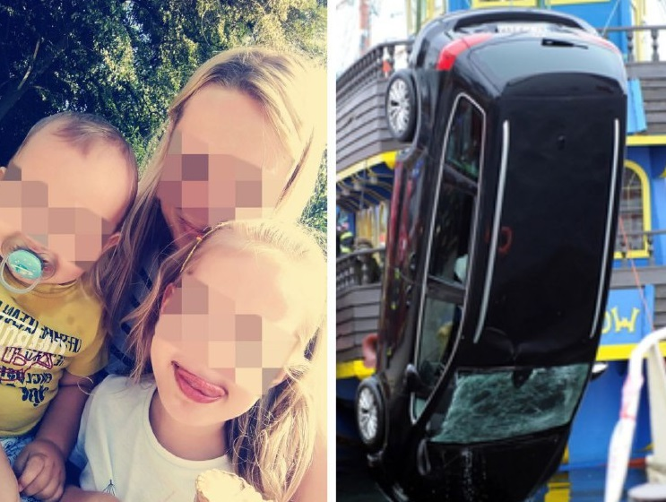 У Польщі авто з українцями пірнуло у воду: сім'я з дітьми не змогла вибратися з пастки