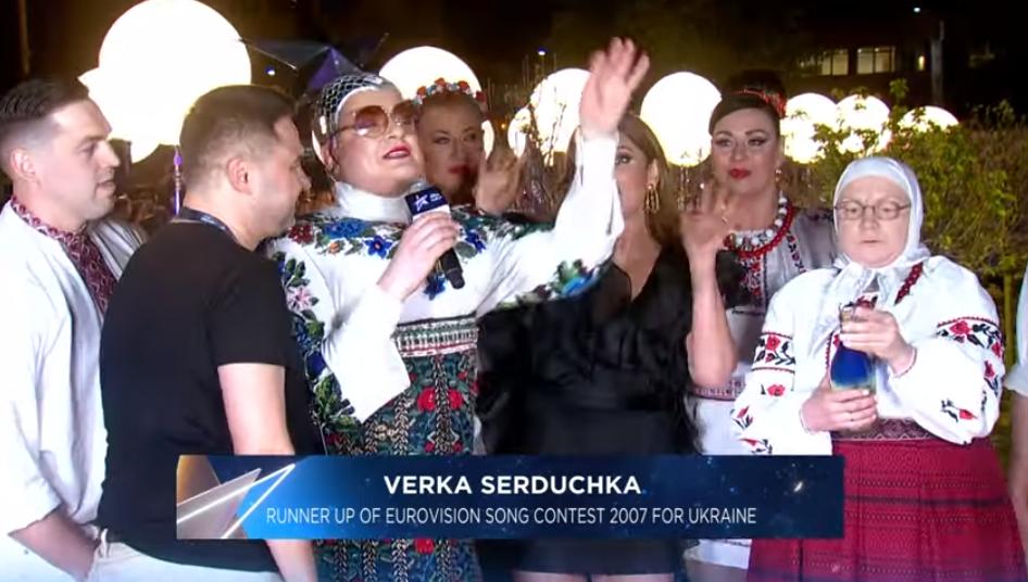 Евровидение 2019: Верка Сердючка уже успела отличиться (видео)