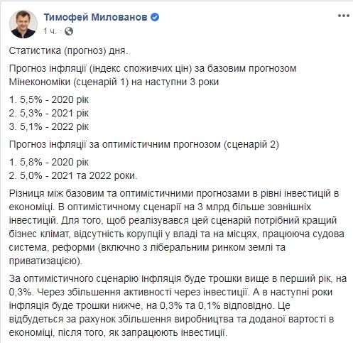 Милованов назвал условия для привлечения 3 млрд долларов инвестиций