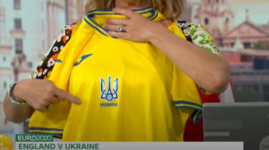 На британському ТБ карту України на формі збірної порівняли з брудною плямою: спалахнув скандал