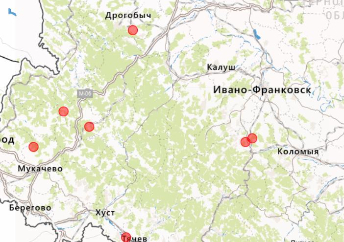 Украину всколыхнула серия землетрясений в трех областях