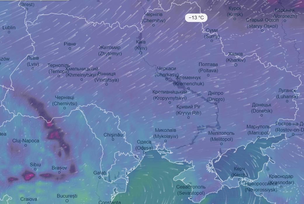 """""""Двозначні морози"""": українців попередили про найхолодніший день березня"""