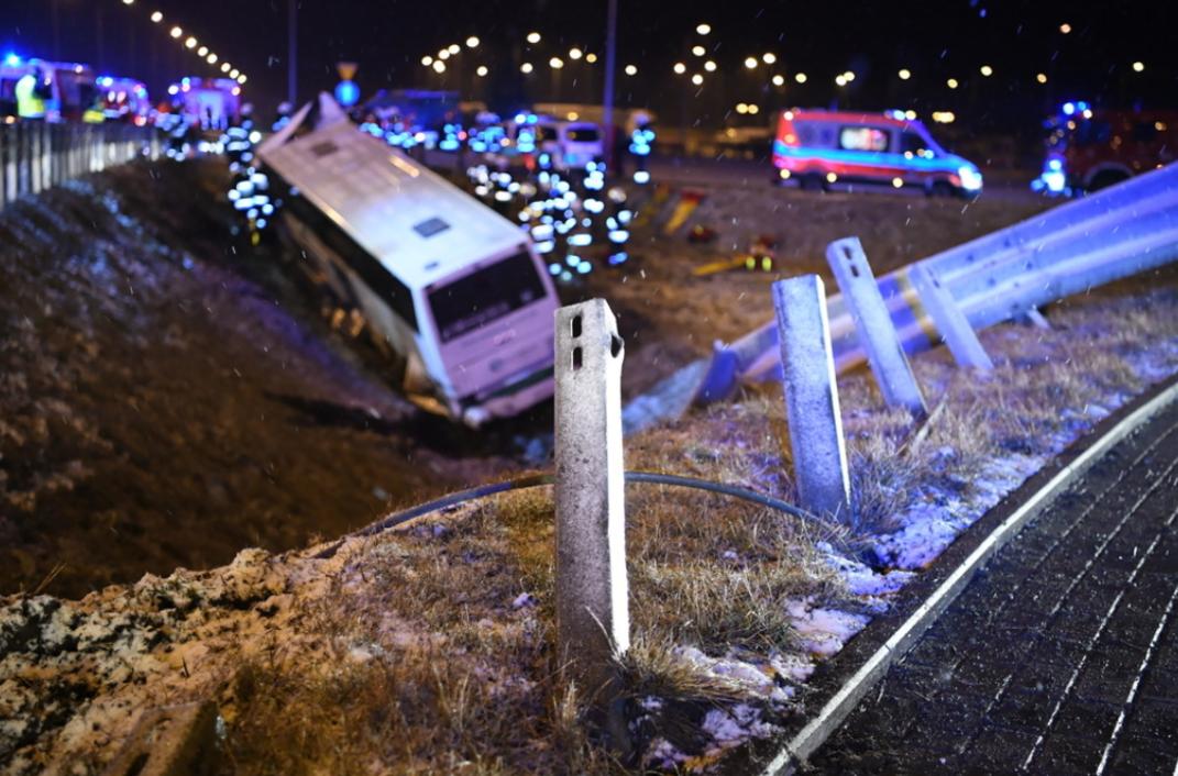 У Польщі потрапив в аварію автобус з українцями, є загиблий та травмовані