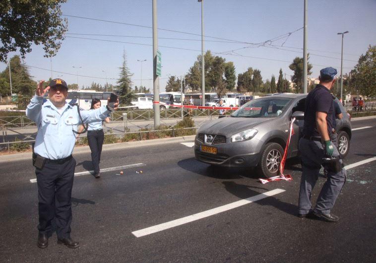 ВИерусалиме обстреляли остановку высокоскоростного трамвая