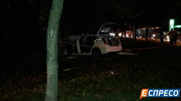 В милиции столицы Украины сказали детали ДТП спатрульным авто