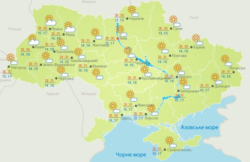 Україну знову накриє пекельна спека: синоптики шокували прогнозом