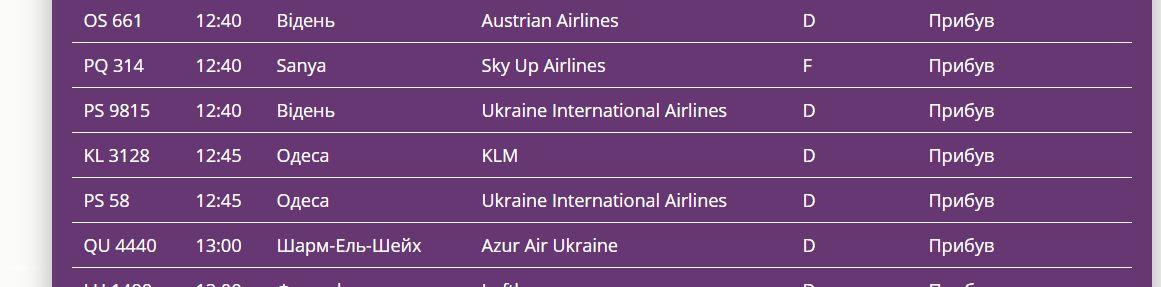 """В """"Борисполь"""" прилетел самолет с эвакуированными из Китая украинцами"""