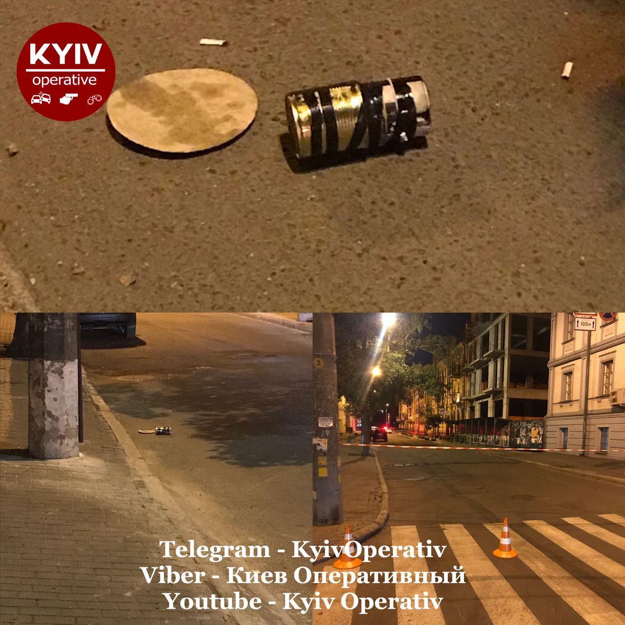"""В центре Киева сообщили о """"минировании"""" на одной из улиц"""