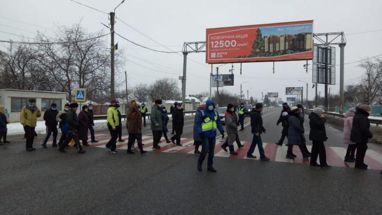 """Еще два региона присоединились к """"тарифным"""" протестам. Перекрыли киевскую трассу"""
