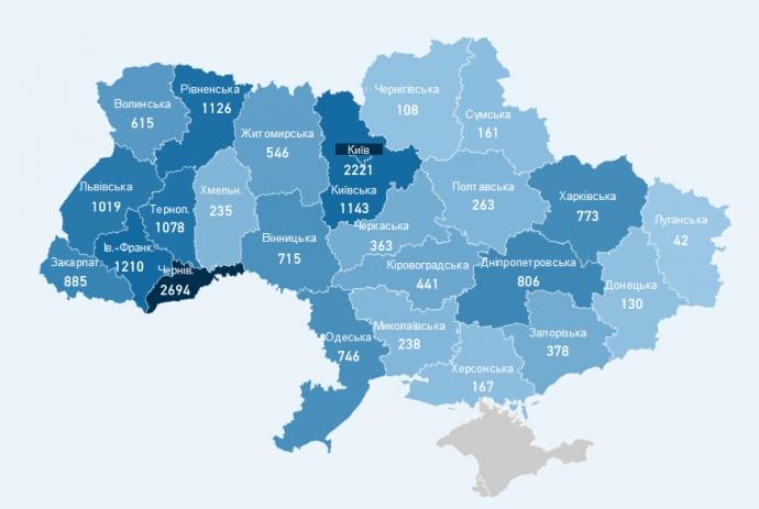 Коронавірус в Україні: число нових випадків пішло на спад