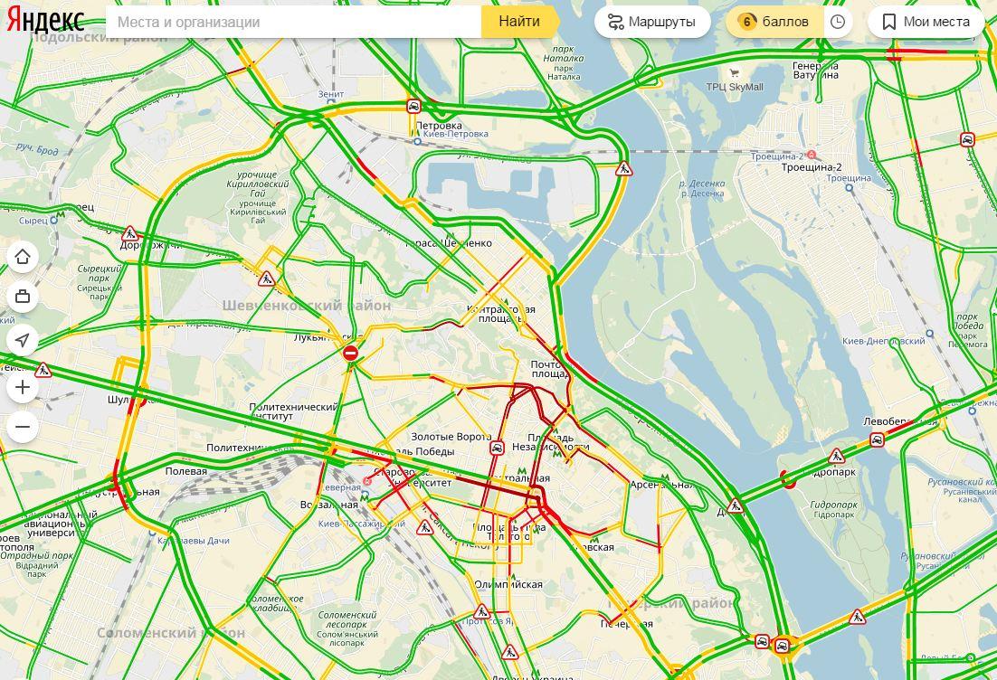Пробки в Москве онлайн  Узнать какие сейчас пробки в Москве