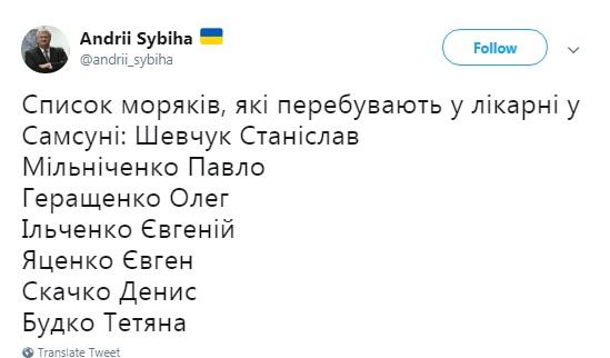 Стали известны имена погибших в Черном море украинцев