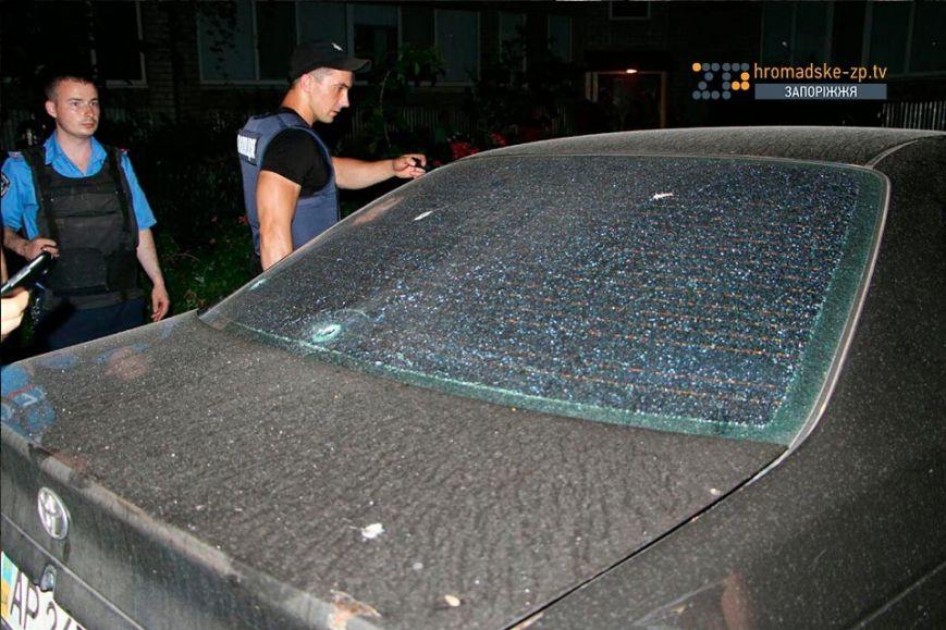 Милиция: детали обстрела «Тойоты» вЗапорожье
